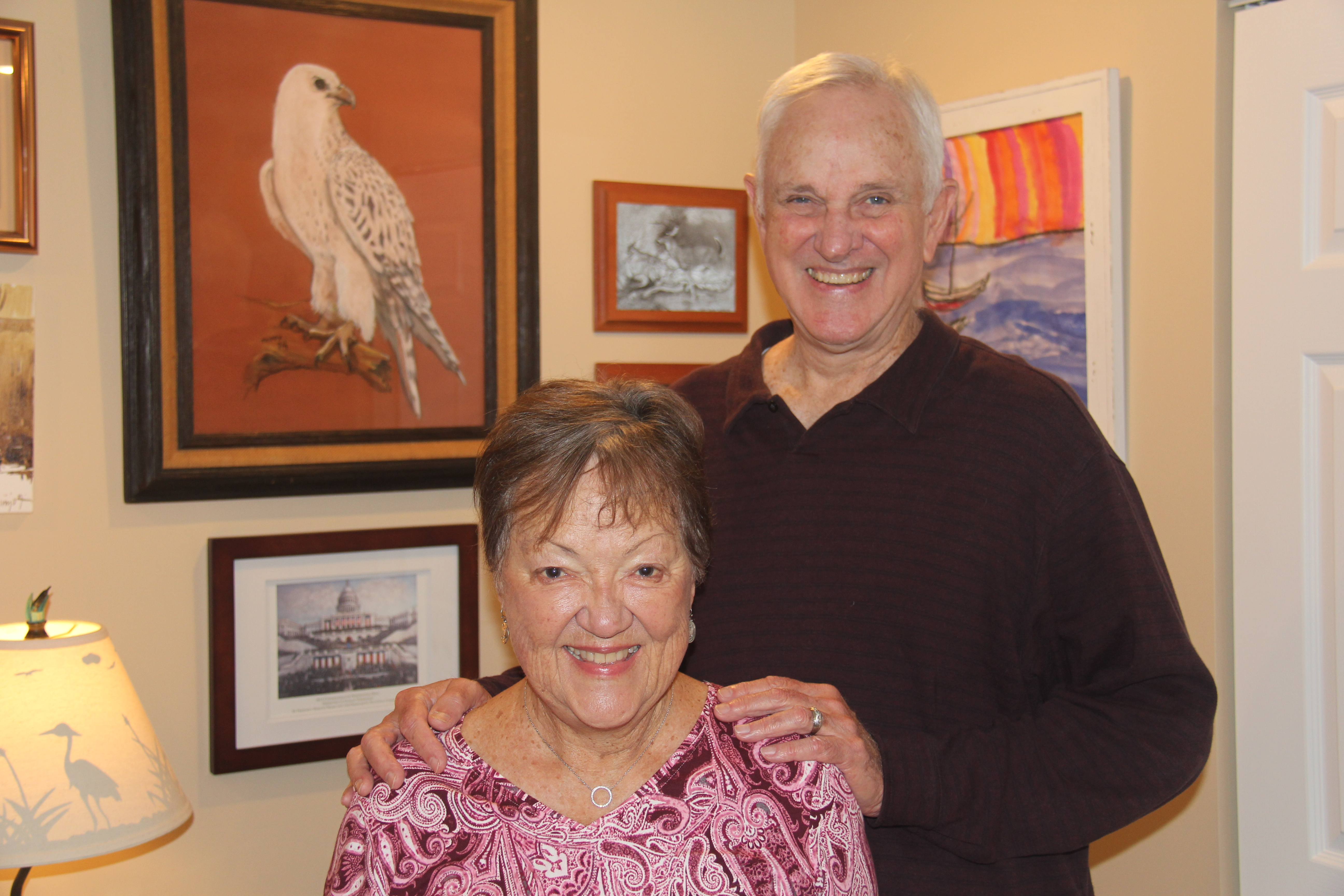 Judy and Stan Stephenson chose Brooksby Village for its abundant activities and social opportunities.