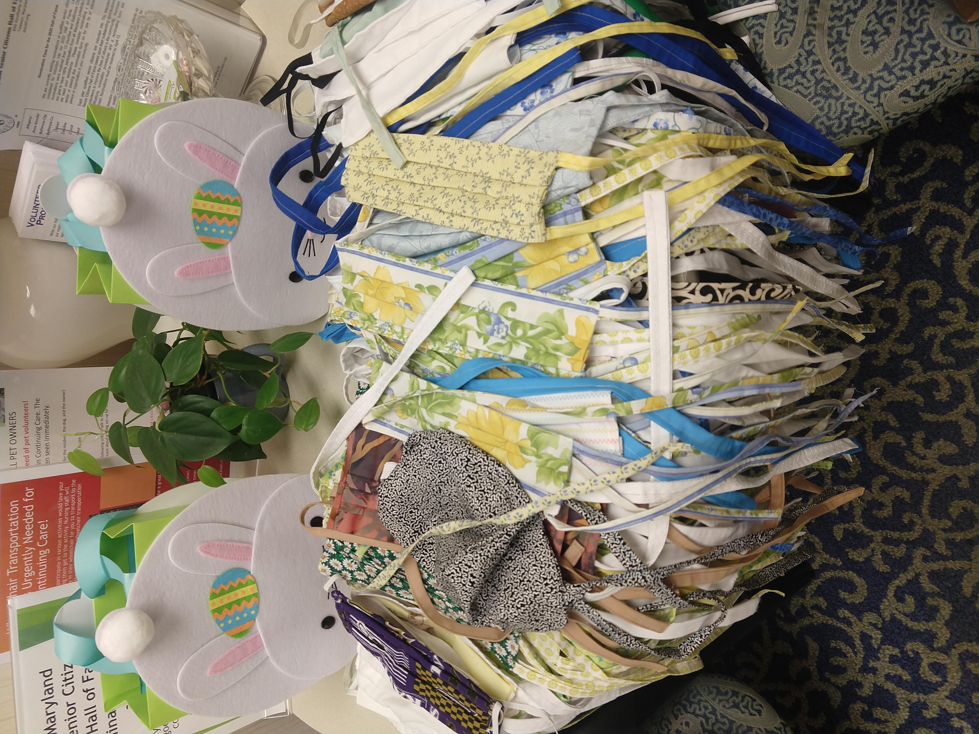Charlestown volunteers sew more than 800 homemade face masks during coronavirus pandemic