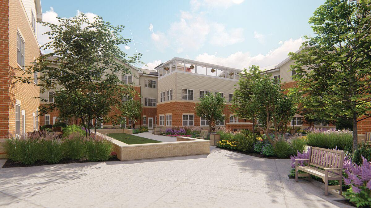 Maris Grove Continuing Care Building Evergreen Pointe