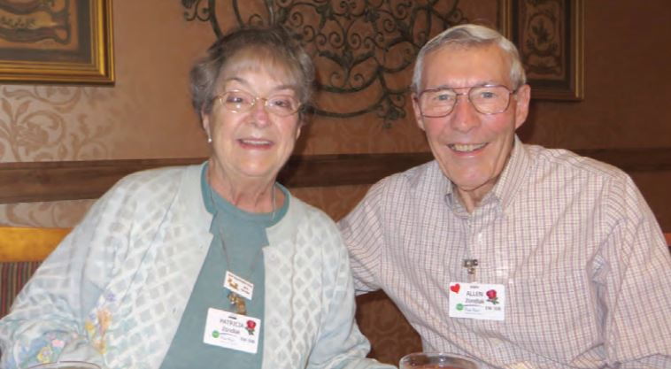 Allen and Patricia Zondlak say it's easy to make friends at Fox Run