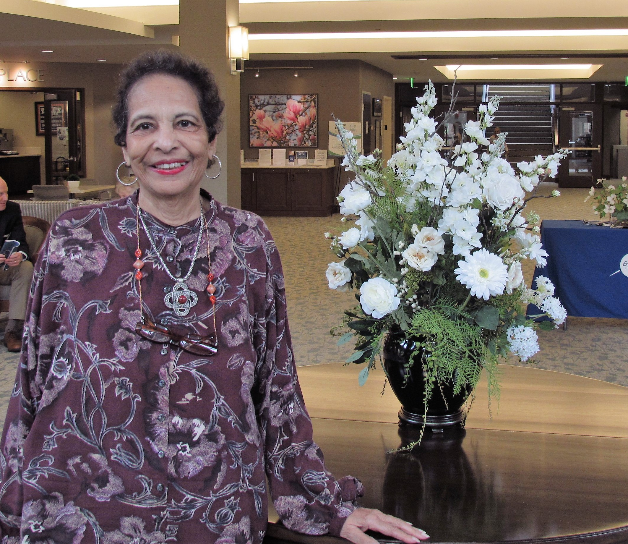 Francine Ashby enjoys a vibrant lifestyle and financial security at Charlestown retirement community.