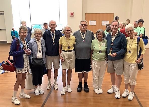 Greenspring Wins 1st Annual Erickson Living Resident Pickleball Tournament