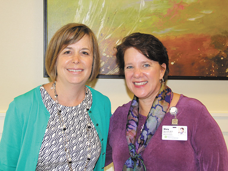 "Highland Springs physicians Dr. Jill Studley, M.D., & Dr. Mary Norman, M.D., were among the region's ""Best Doctors"" as awarded by D Magazine"