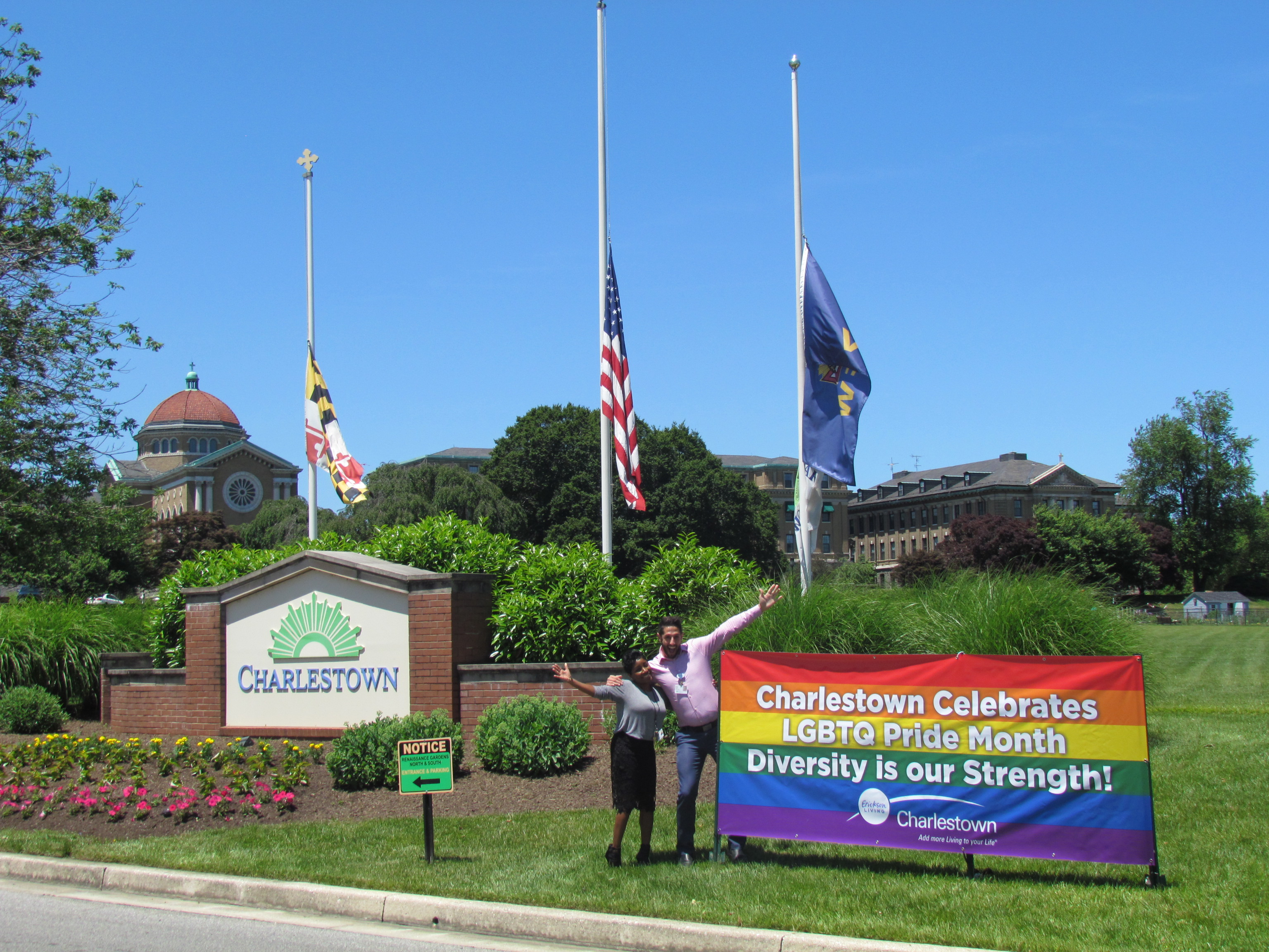 Charlestown Celebrates Diversity & Inclusion During Pride Month