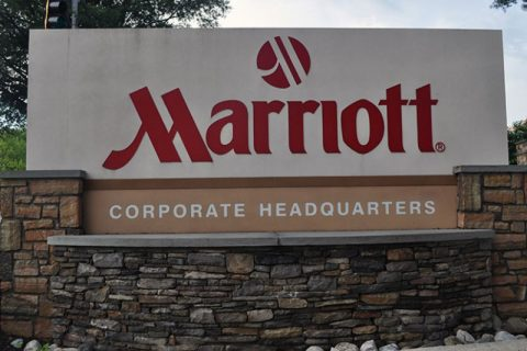 Marriott International Inc.'s headquarters property in Bethesda