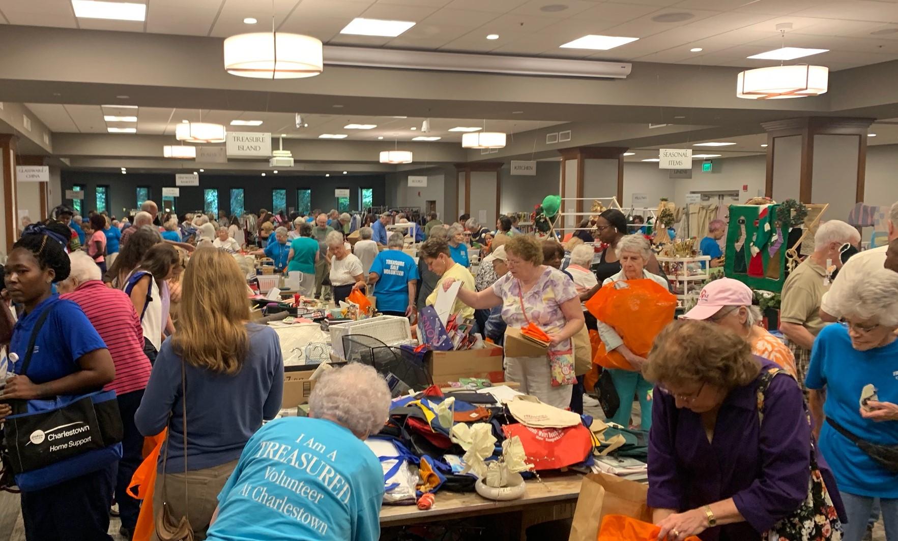 Charlestown Treasure Sale Raises More than $36,000 for Community Programs