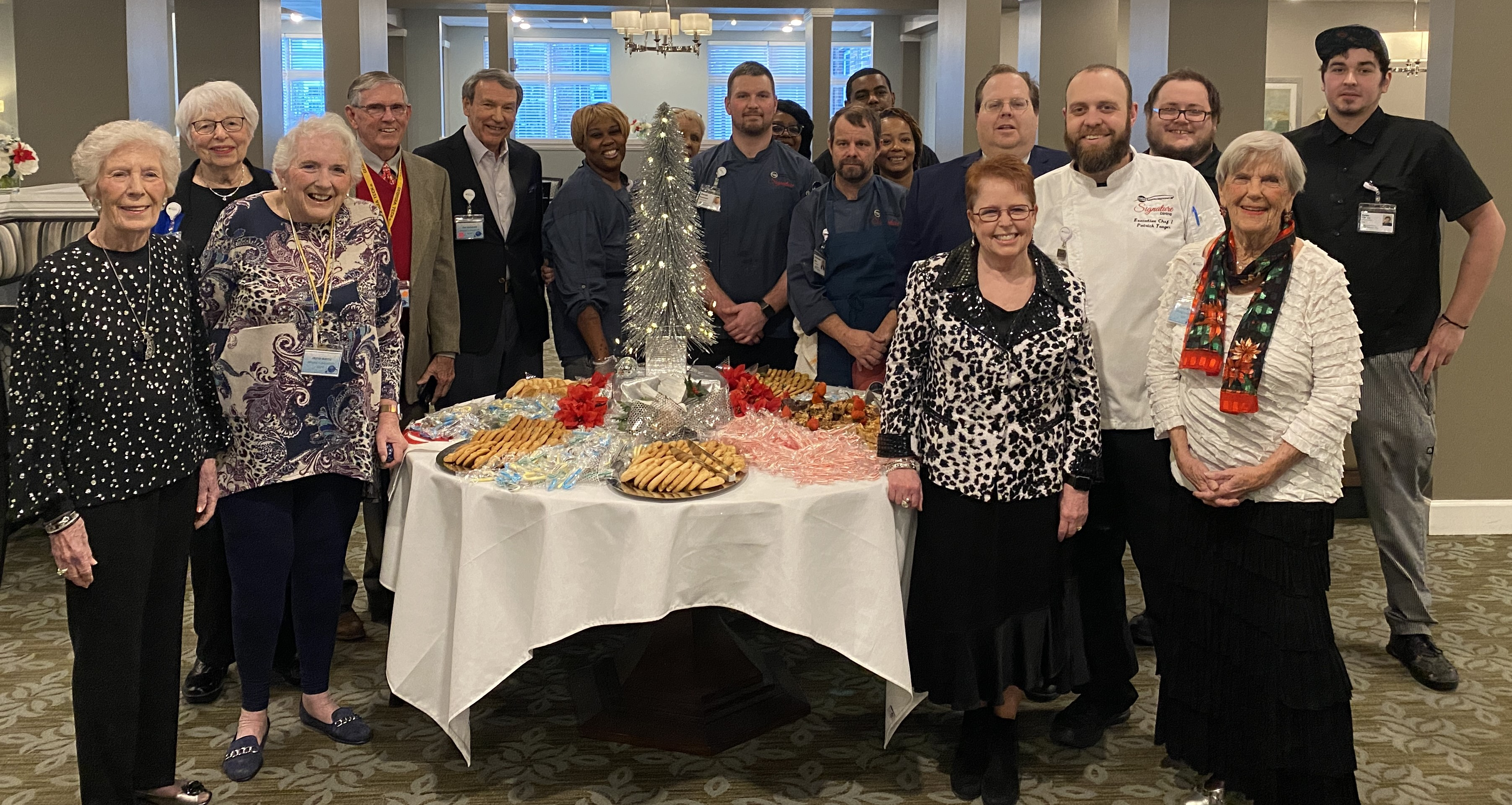 The Windsor Run Holiday Gathering is a new seasonal tradition at Windsor Run.
